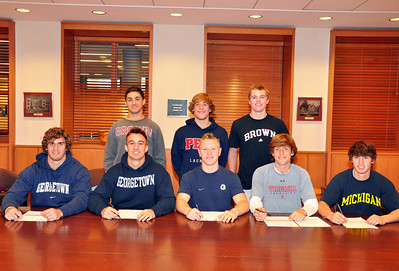 College commitment signings