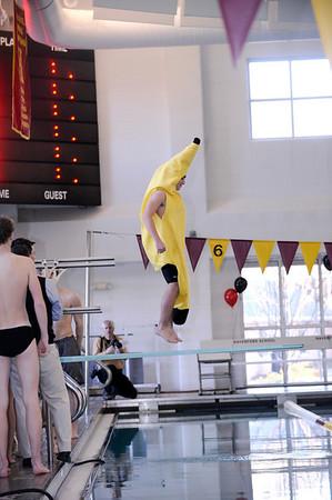 Varsity swimming & diving vs Haverford High School