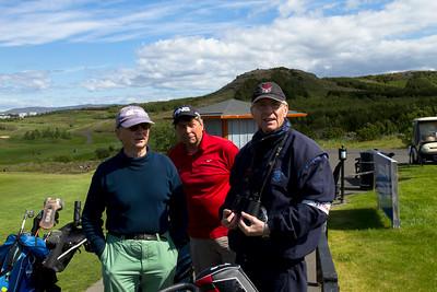 Ásgeir, Hjalti og Þorsteinn Svörfuður.