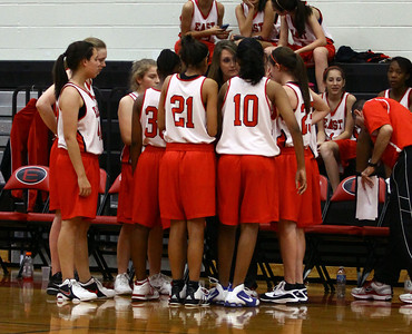8th Grade Girls' BB vs. Cross Timbers (11-17-11)