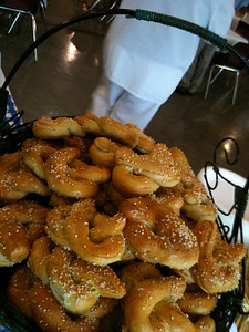 Over 300 pretzels are handmade, rolled and twisted by CWA Food Services!  (c)2011 A. Rayl