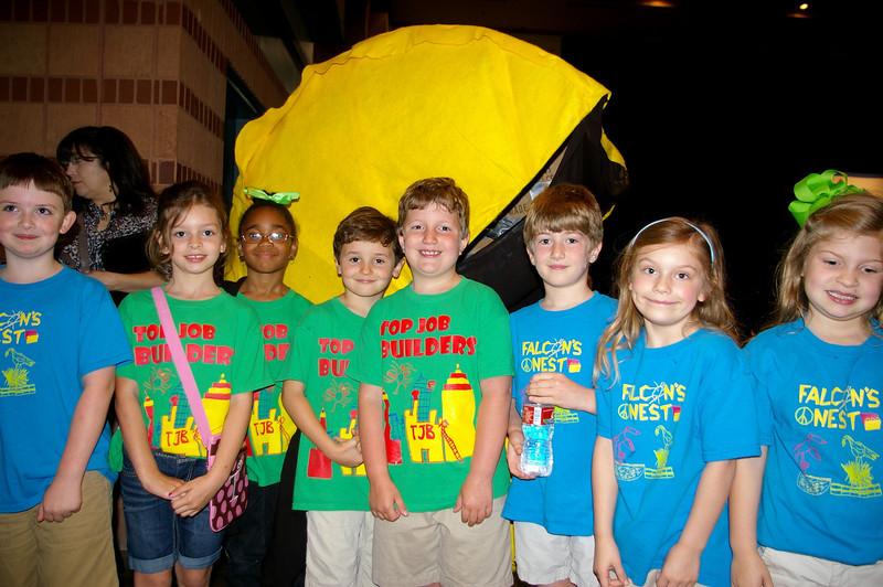 Young robotics fans.