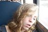 J-nicole p asleep on bus home