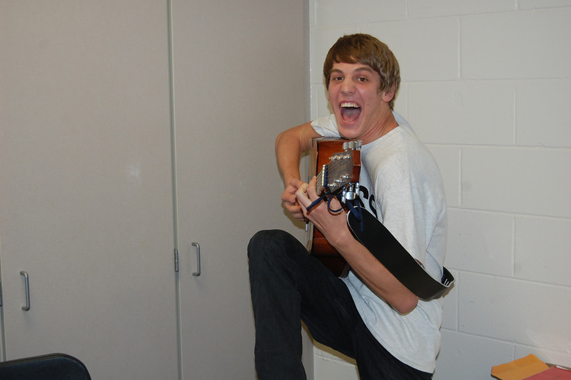 J-isac and guitar