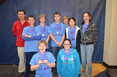 Cooperative Middle School, Stratham, #130-02204, Renaissance Award, Assembly Required.