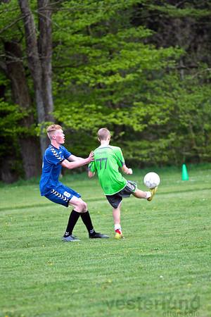 Fodbold mod gamle elever