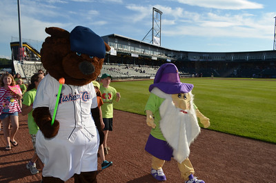 NHICC the gNHome and Fungo lead the parade on the field