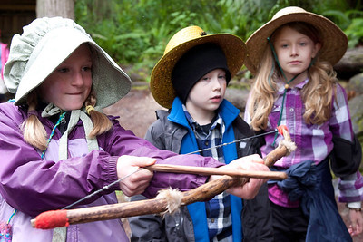 Third graders visit Ohop Farm for an overnight pioneer experience. Visit https://picasaweb.google.com/105095052190784722958/Ohop2012 for more images.