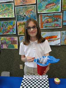 5th grade homerooms host a monthly bake sale to fund-raise for their history field trip