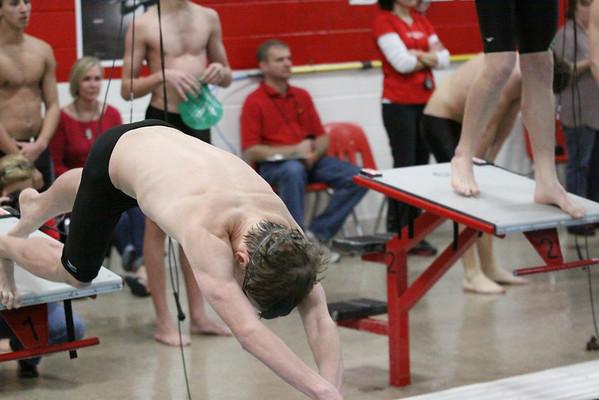 Men Swimming-Teacher Appreciation