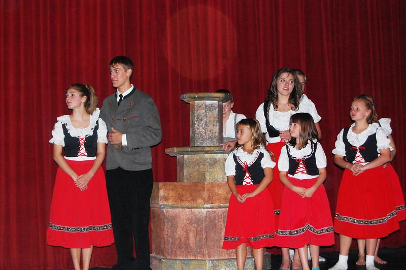 J-Family around fountain(fountain)