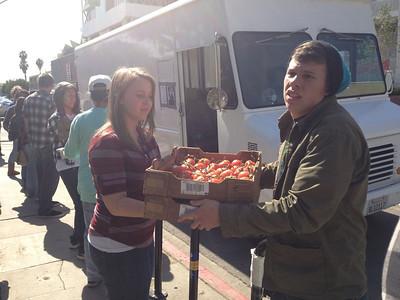 Food truck stop at MacARthur park.