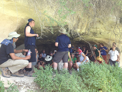 Shepard cave. Likely a similar location to where Christ was born.