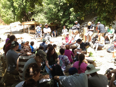 Caesarea Philippi: learning about fertility gods and how this location was like the Las Vegas of its time.