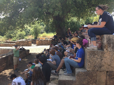 Tel Dan: learning about being obedient to what God has called us to.