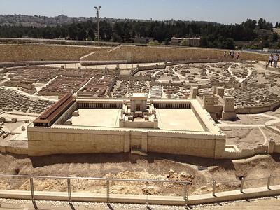 1/50 model of Jerusalem
