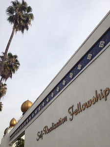 """Self Realization Fellowship. We spent two hours talking to one of the """"brothers"""" at the fellowship. Students learned the differences and similarities between their faith and ours."""