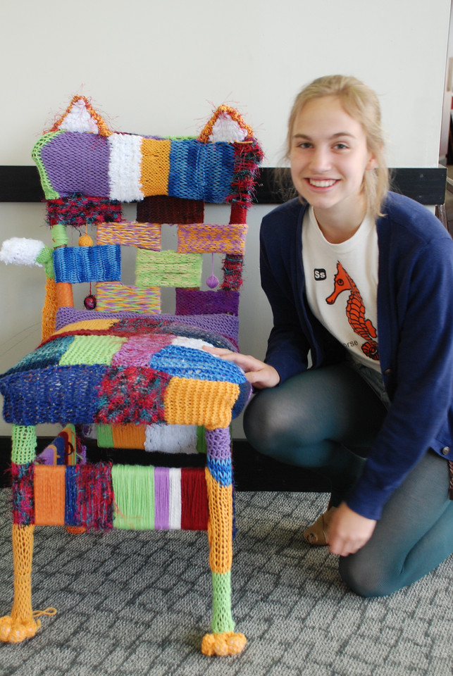 Chair Art Project 2012