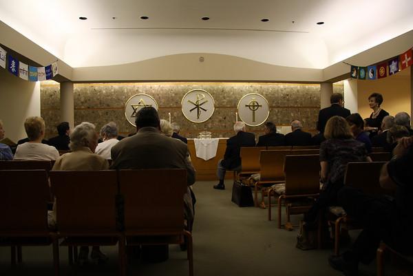 Murat Chanters Sunday Service at Methodist Hospital 6-5-11