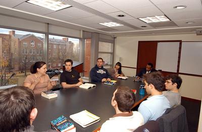 """2011 Professor Fairfax's """"The Wire"""" Seminar"""