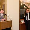 Professor Roger Schechter and Dean Paul Schiff Berman