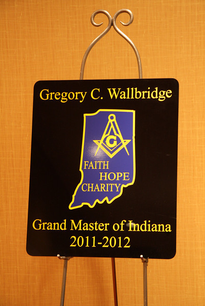 Reception for Grand Master Walbridge 8-6-11