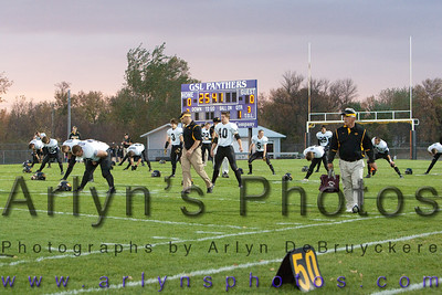 Hutchinson Football vs GSL