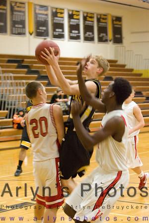 Hutch Boys Basketball vs Mankato West