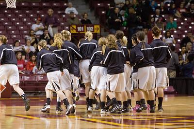Hutch Girls State Basketball