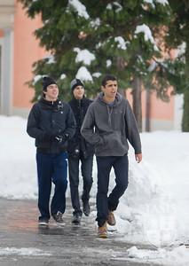 A Snowy Campus
