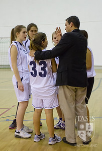Girls JV Basketball (ZIS)