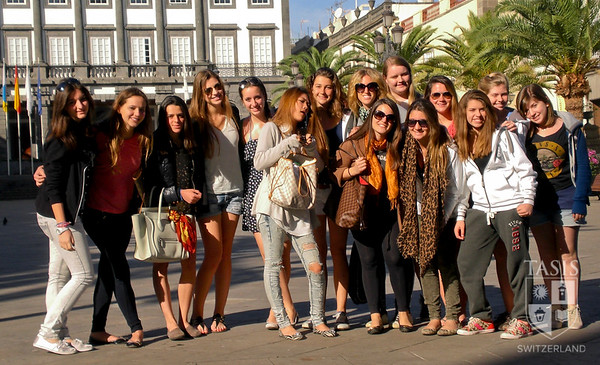 Girls Volleyball in the Canary Islands