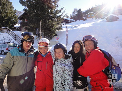 Middle School Ski Week at La Tzoumaz