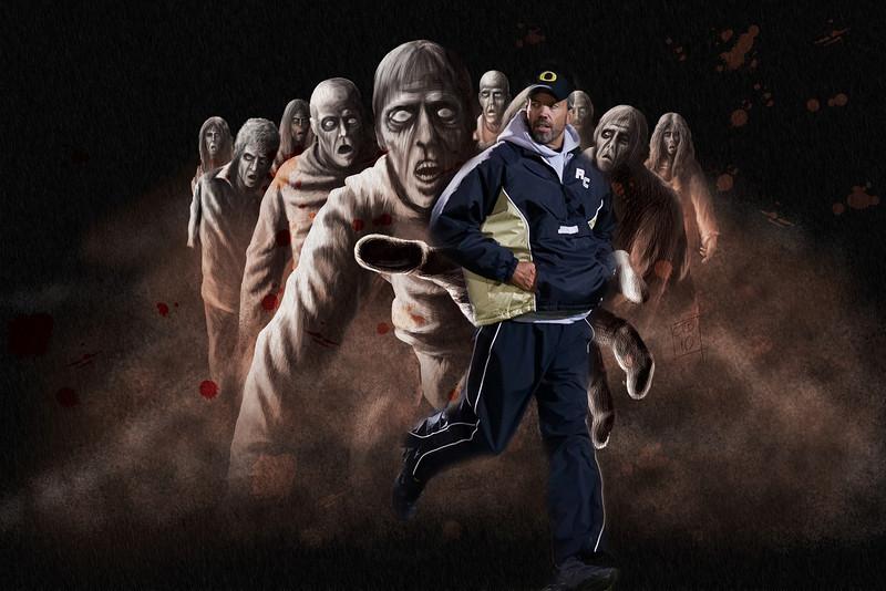 *zombie attack