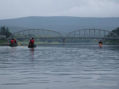 Delaware River High Adventure Canoe