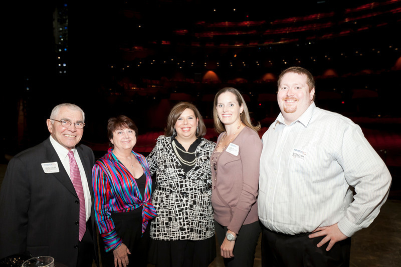 Fred and Betty Mitchell, Lee Mitchell (2012 Ovation Award recipient), Heather Coffman, and James Morgan