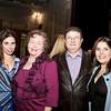 Samira Salman (2012 Ovation Award Recipeint), Rita Salman, Dr. Muin Baasiri, and Rudeina A. Baasiri
