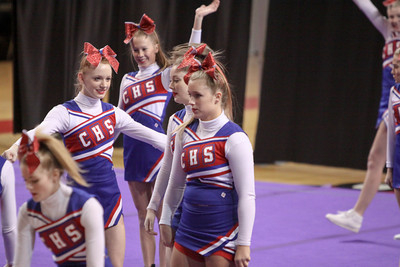 Conner Cheerleaders 2/18/12