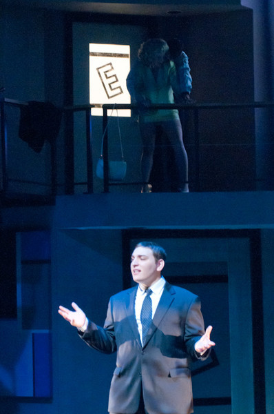 """Theater production of """"Enron""""."""