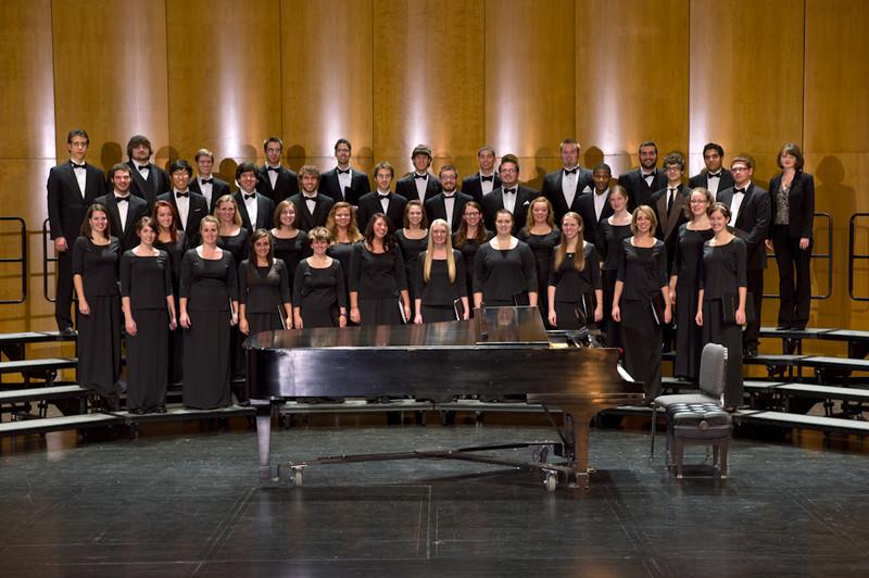 Buffalo State Chamber Choir group photo.