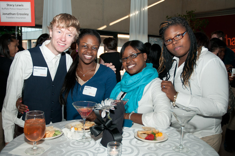 Manners Matter Event Hosted by the Career Development Center.