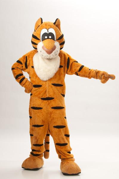 Buffalo State College Bengal Mascot.