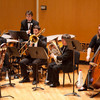 Buffalo State College Wind Ensemble performing at Kleinhan's Music Hall.