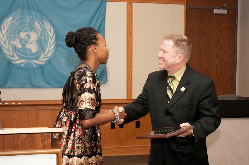 International Student Organization end of year Reception.