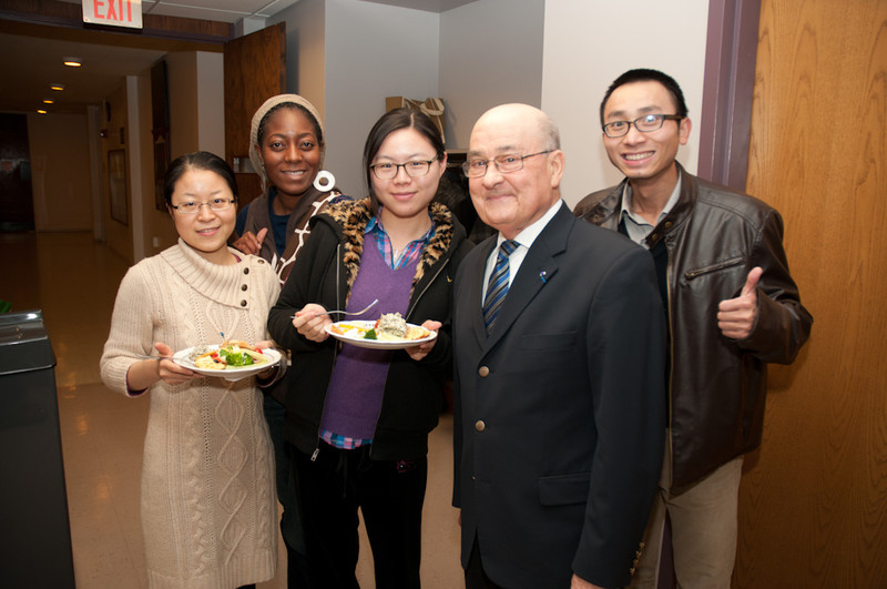International Student Organization end of year Reception.
