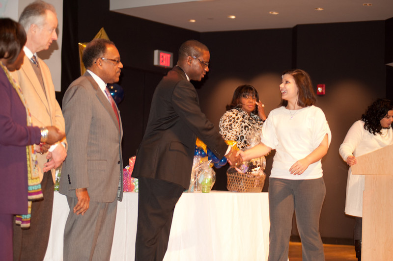 Buffalo State College Student Support Services Student Recognition Ceremony.