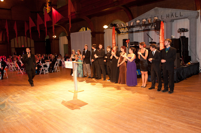 2011 All College Honors Program scholarship Gala.