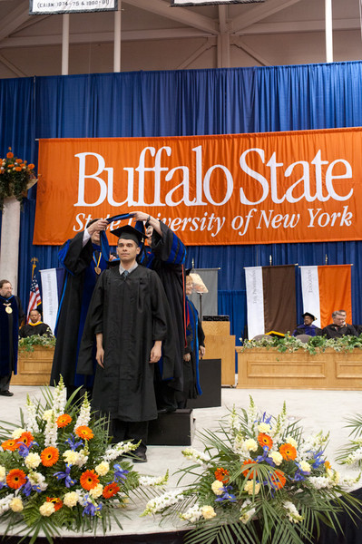 6pm Graduate Commencement at Buffalo State College.