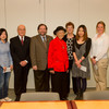 Presentation of Francis Tyau and Elenor Blackburn Scholarships.