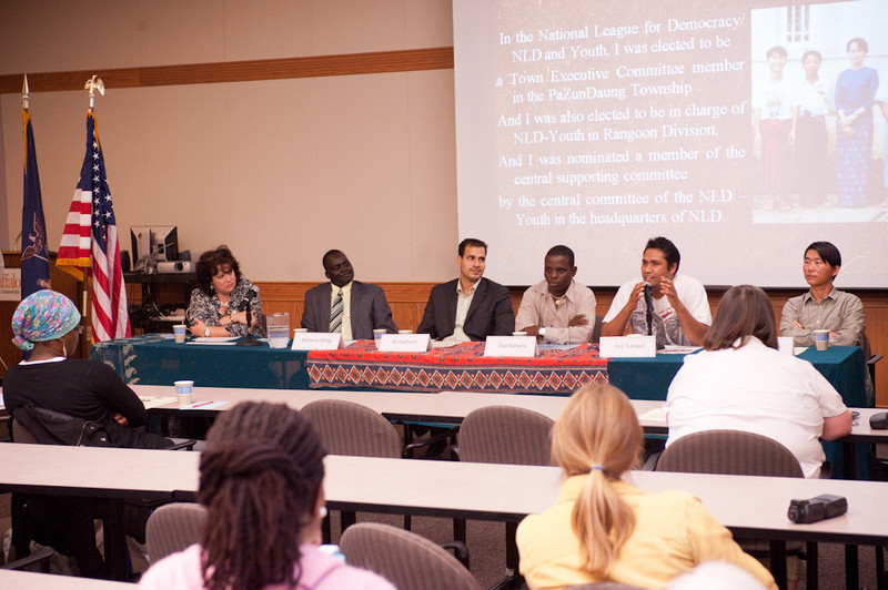 Refugee Awareness Week panel discussion.